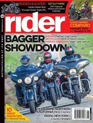 Rider Magazine Magazine Cover