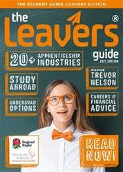 The Leavers Guide Magazine Cover