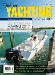 Quebec Yachting Magazine Cover