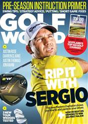 Golf World Magazine Cover