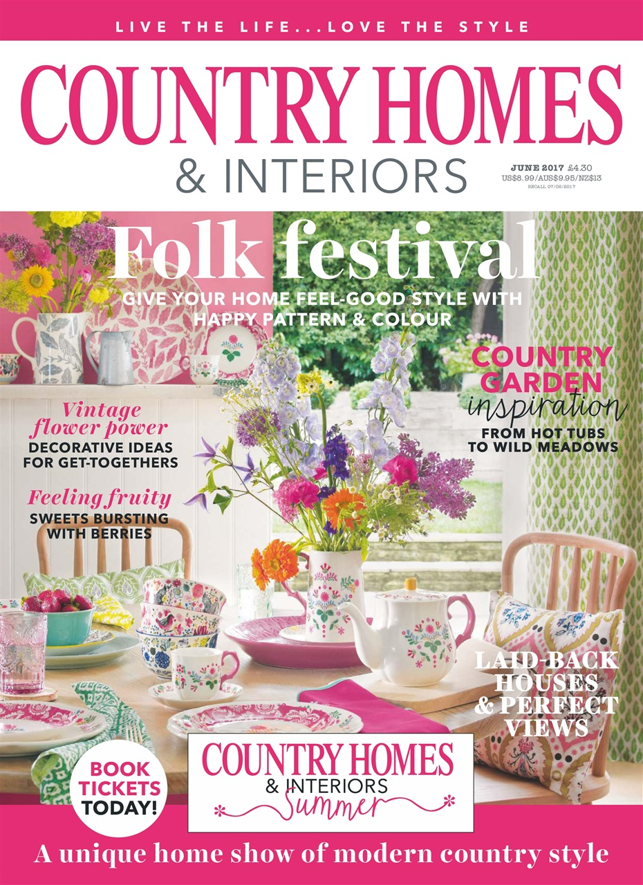 Country Homes Interiors Magazine June 2017 Subscriptions Pocketmags