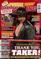 Power-Wrestling Magazine Cover