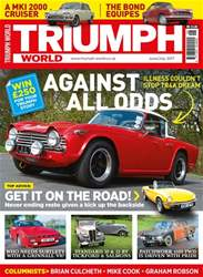 Triumph World Magazine Cover