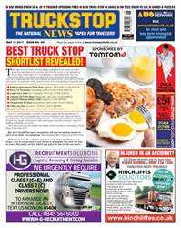 Truckstop News Magazine Cover