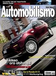 Automobilismo Magazine Cover