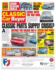 No. 381 Classic Parts Supply Crisis? issue No. 381 Classic Parts Supply Crisis?