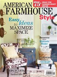 American Farmhouse Style Summer 2017 issue American Farmhouse Style Summer 2017