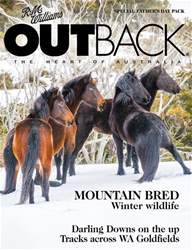 OUTBACK 113 issue OUTBACK 113