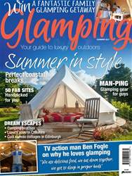 Glamping Summer issue Glamping Summer