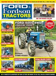 Ford & Fordson issue No. 79: Ford 5000 4WD