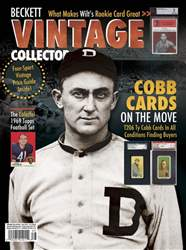 Vintage Collector Magazine Cover