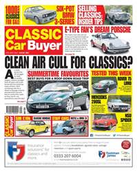 No. 382 Clean air cull for classics? issue No. 382 Clean air cull for classics?