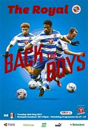 Reading FC Official Programmes issue 27 v Fulham
