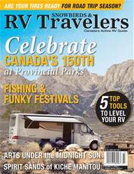 Snowbirds & RV Travelers Magazine Cover