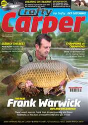 Crafty Carper Magazine Cover