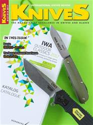 KNIVES INTERNATIONAL Magazine Cover