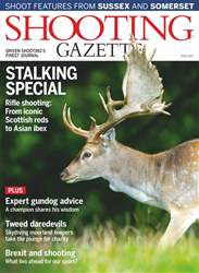 Shooting Gazette Magazine Cover