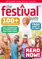 The Festival Guide issue The Festival Guide 2017