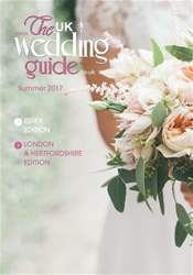 The UK Wedding Guide issue June 2017