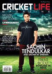 Cricket Life Magazine Cover