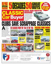 No. 384 Clubs save scrappage classics issue No. 384 Clubs save scrappage classics