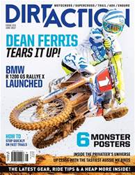 Dirt Action Magazine Cover