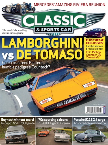 classic sports car magazine july 2017 subscriptions pocketmags. Black Bedroom Furniture Sets. Home Design Ideas