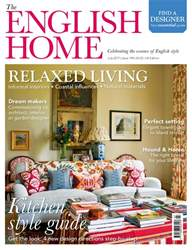 The English Home Magazine Cover
