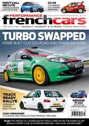 Performance French Cars Magazine Cover