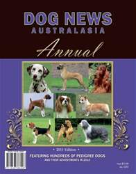 2011 Dog News Australasia Annual issue 2011 Dog News Australasia Annual