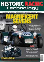 Historic Racing Technology Issue 12 Spring 2017 issue Historic Racing Technology Issue 12 Spring 2017