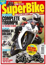 Superbike Magazine Magazine Cover