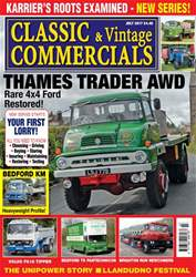 Vol. 22 No. 11 Thames Trader AWD issue Vol. 22 No. 11 Thames Trader AWD