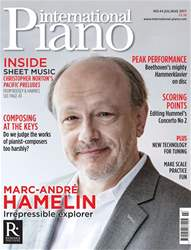 International Piano issue International Piano