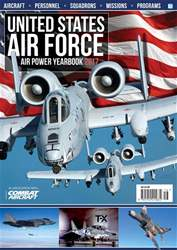US Air Force Air Power Yearbook 2017 issue US Air Force Air Power Yearbook 2017