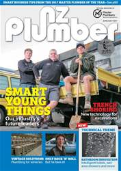 NZ Plumber June-July 2017 issue NZ Plumber June-July 2017