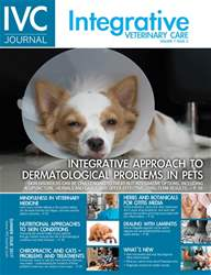 Integrative Veterinary Care issue Integrative Veterinary Care
