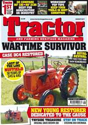 Tractor & Farming Heritage Magazine issue August 2017