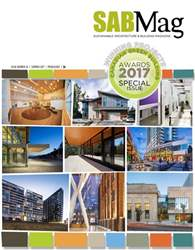 Summer 2017 - Special Canadian Green Building Awards issue Summer 2017 - Special Canadian Green Building Awards