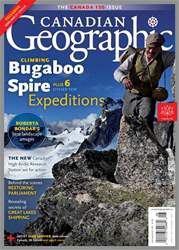 Canadian Geographic issue July/August 2017