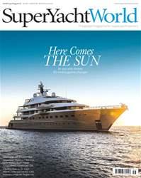 SuperYacht World Magazine Cover