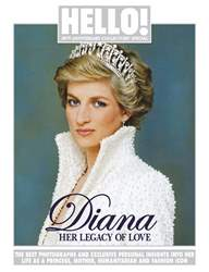 Hello! Magazine issue DIANA 20TH ANNIVERSARY COLLECTORS' SPECIAL