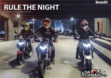 Twist & Go issue Rule the Night - Benelli brochure