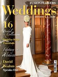 Fusion Flowers - Weddings Magazine Cover