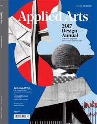 Applied Arts issue July/August 2017 - Design Awards