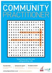 Community Practitioner issue July 2017