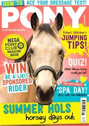 PONY magazine – August 2017 issue PONY magazine – August 2017