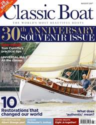 Classic Boat August 2017 issue Classic Boat August 2017