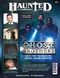 Haunted Magazine Magazine Cover