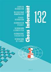 Chess Informant 132  (July  2017) issue Chess Informant 132  (July  2017)